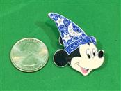 Disney Pin Sorcerer Mickey Face, Sorcerer's Hat With Jewels, Jeweled 50043